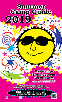 2019 Summer Camps Brochure Cover Art